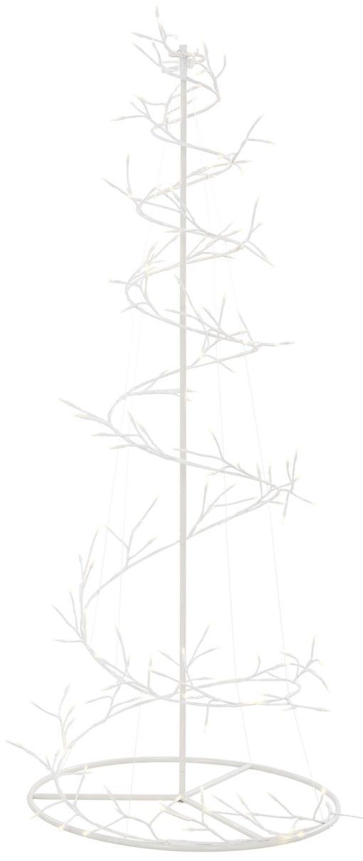 Nowoczesne, spiralne drzewko LED