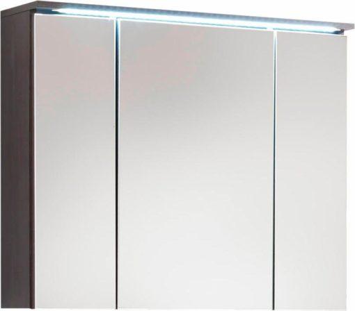 Szafka z lustrzanym frontem i oświetleniem LED
