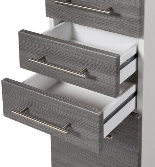Stylowy słupek - szafka do łazienki w unikatowym kolorze