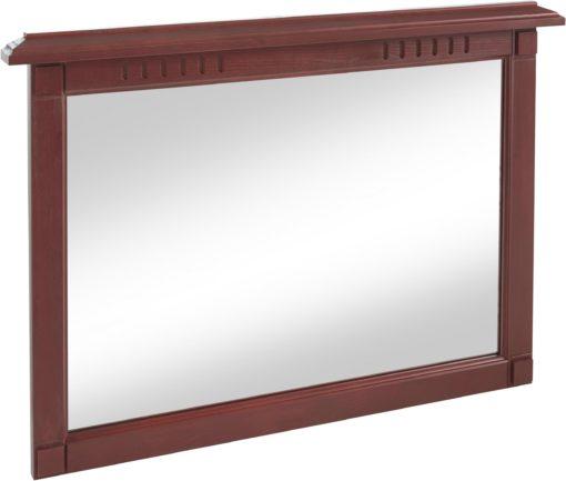Piękne i ponadczasowe drewniane lustro w rustykalnym stylu
