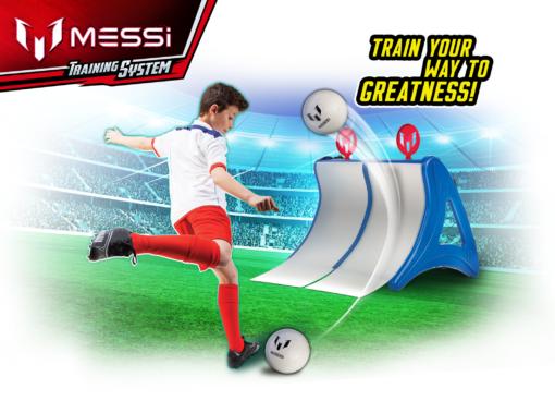 Stacja do treningu piłkarskiego 4w1. Messi TrainStation