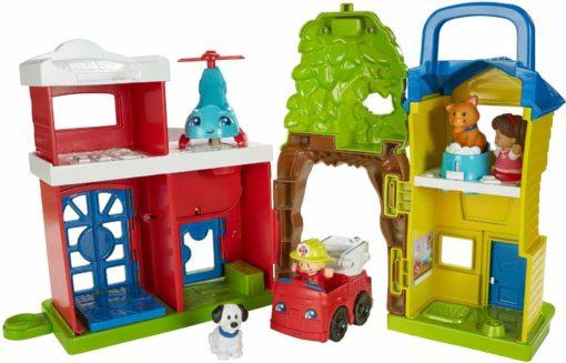 Gra Fisher Price Little People zwierzęca stacja ratunkowa