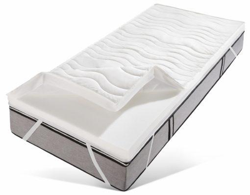 Luksusowy topper z pianki wysokoelastycznej 180x200 cm