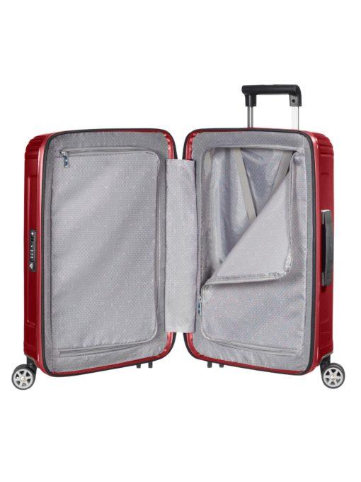 Szykowna i stylowa, twarda, trójwymiarowa walizka Samsonite