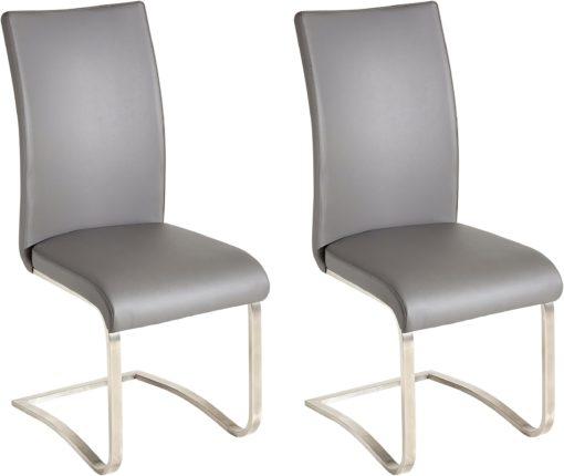 Oryginalne i designerskie krzesła ze skóry, zestaw 4 sztuki