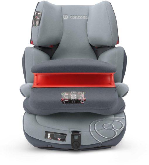 Bezpieczny fotelik samochodowy dla dzieci Transformer Pro firmy Concord