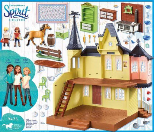 Szczęśliwy domek Lucy, zestaw do zabawy