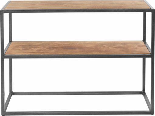 Absolutnie modna konsola z drewnianym blatem, unikalny design