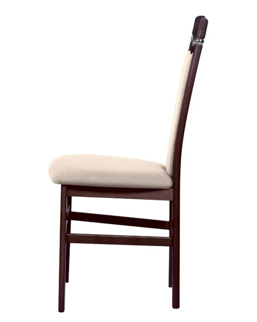 Ponadczasowo eleganckie krzesła - zestaw 2 sztuki