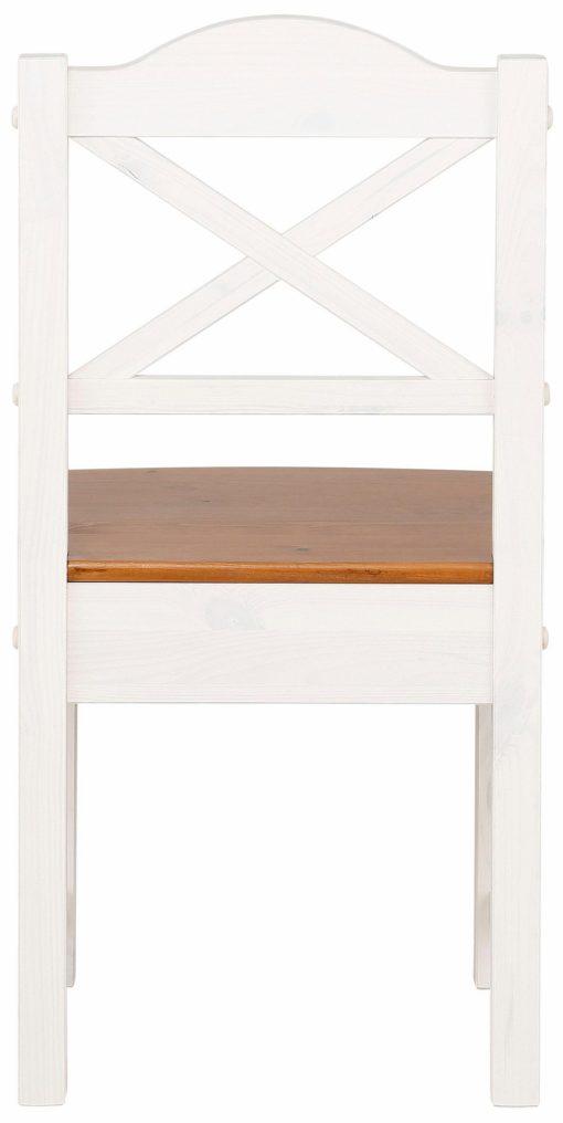 Wysokiej jakości drewniane krzesła w ponadczasowym stylu - 2 sztuki
