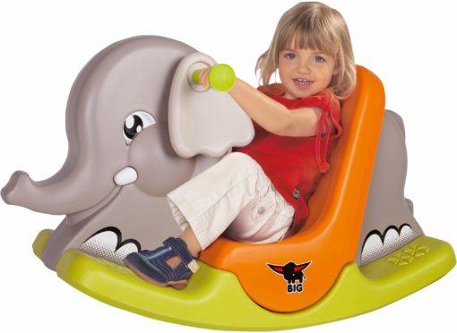 Uroczy słonik bujany dla dzieci