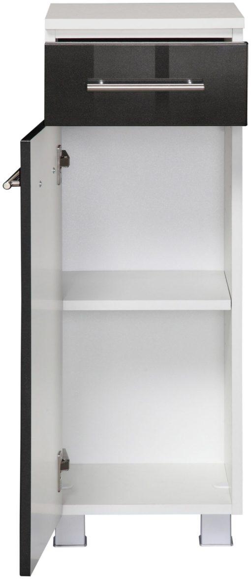 Designerska szafka do łazienki, wysoki połysk