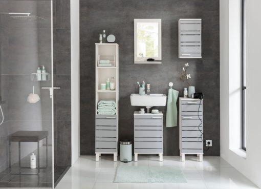 Nowoczesna szafka stojąca do łazienki