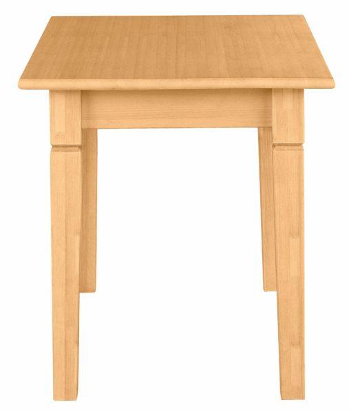 Sosnowy stół o długości 120 cm