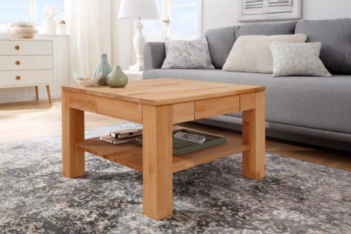 Cudny stolik z drewna bukowego