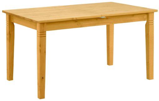 Sosnowy, rustykalny stół 140 cm, rozkładany