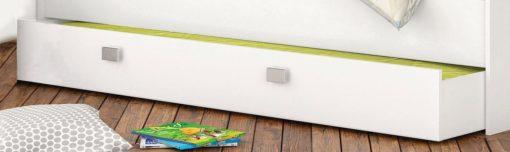 Praktyczna szuflada pod łóżko, z dodatkowym miejscem do spania