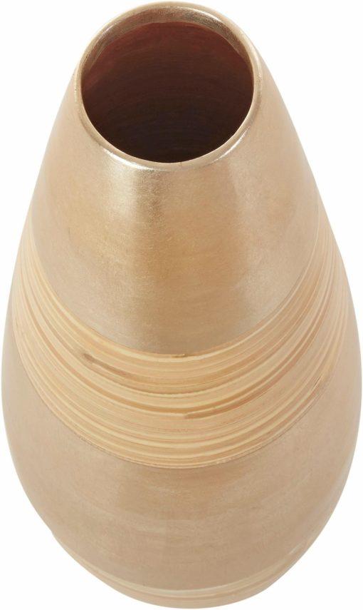 Piękny bambusowy wazon