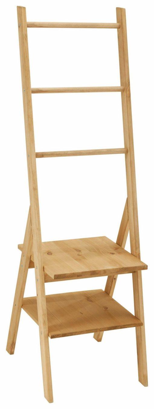 Drewniany wieszak, idealny do minimalistycznego wystroju