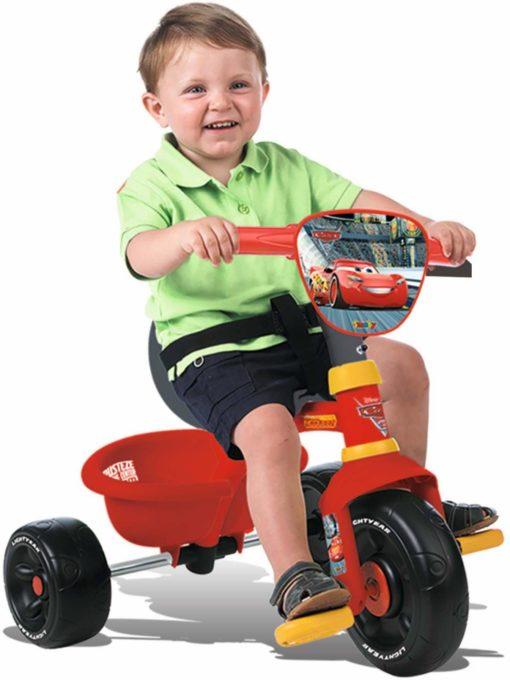 Trójkołowy rowerek z pchaczem »Cars Be Move«