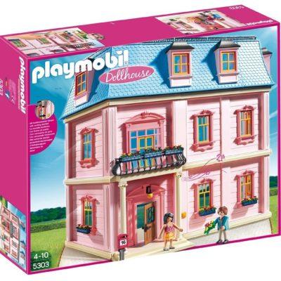 Romantyczny domek dla lalek z akcesoriami