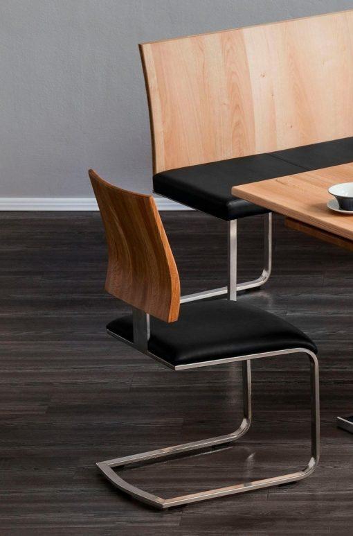 Piękny, designerski fotel do jadalni