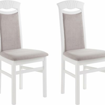 Piękne krzesła, w kontrastujących kolorach - 2 sztuki