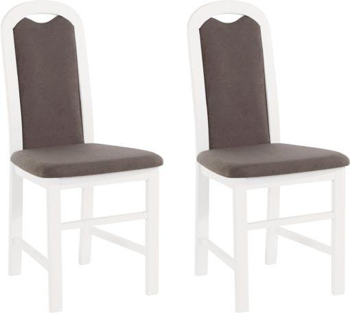 Ponadczasowe, tapicerowane krzesła w tradycyjnym stylu - 8 sztuk