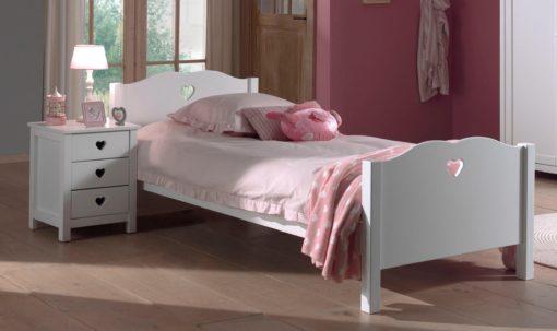 Śliczne łóżko dla małej księżniczki 90x200 cm