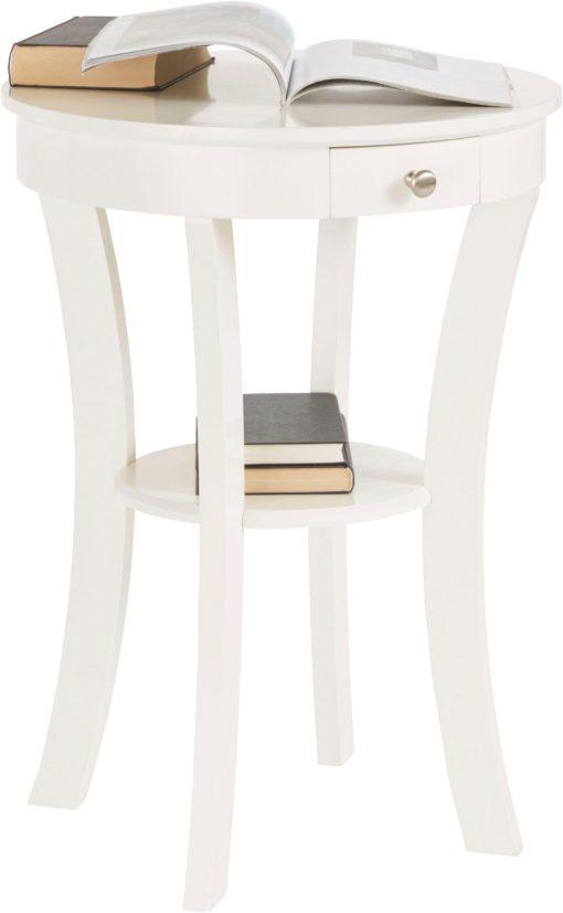 Śliczny, mały stolik o eleganckim wyglądzie