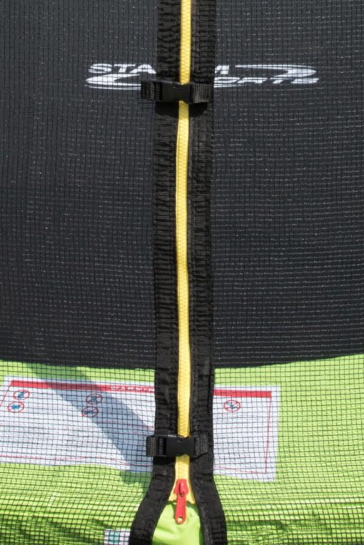 Trampolina ogrodowa STAMM SPORTS 244 cm, z siatką