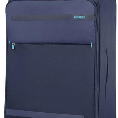 Świetna, miękka i lekka walizka podróżna na zamki szyfrowane