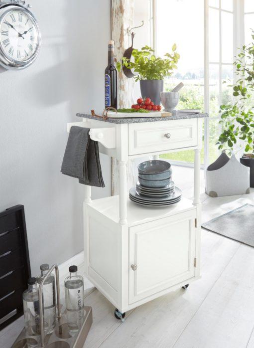 Uroczy wózek/barek kuchenny na kółkach