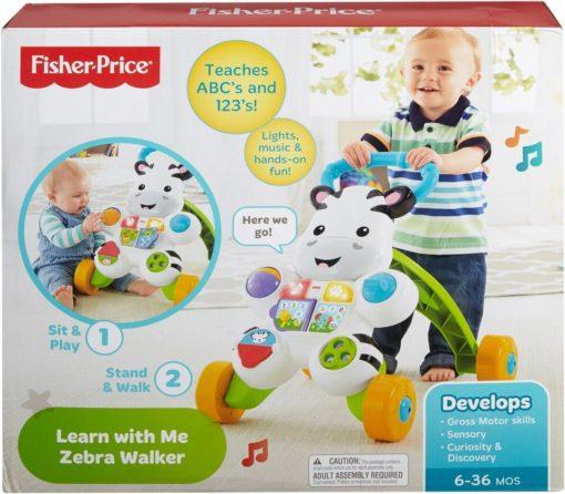Chodzik interaktywny Fisher-Price Zebra