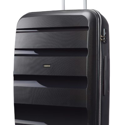Twarda walizka na kółkach, z zamkiem TSA