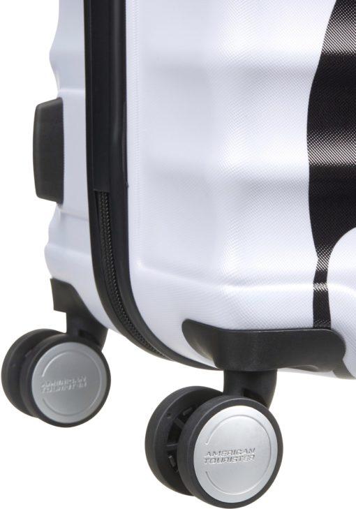 Śliczna, twarda walizka z motywem Disney, 64 l