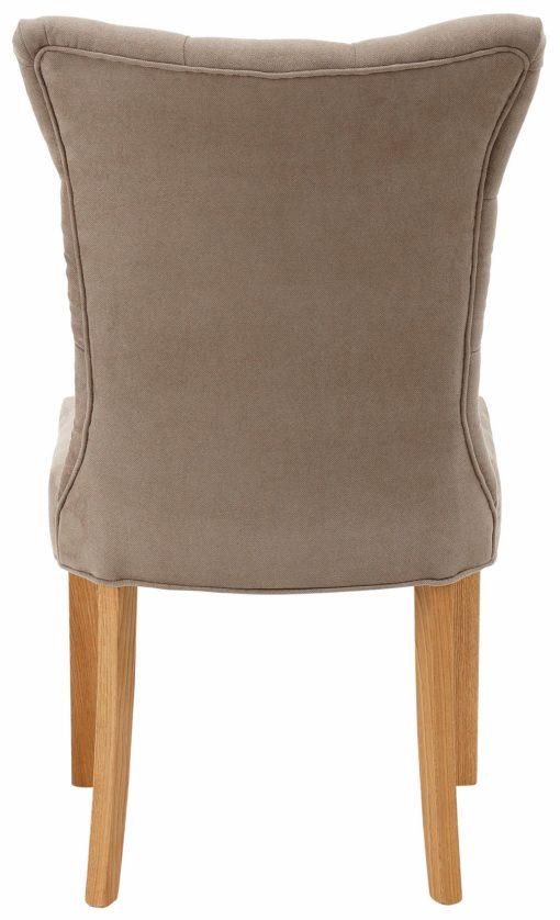 Stylowy fotel z pikowaniem w minimalistycznym stylu