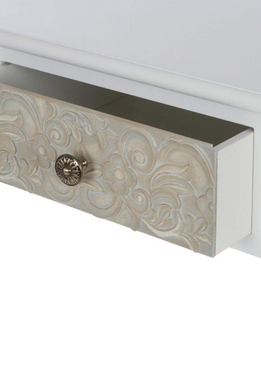 Dekoracyjny stolik/konsola w romantycznym stylu