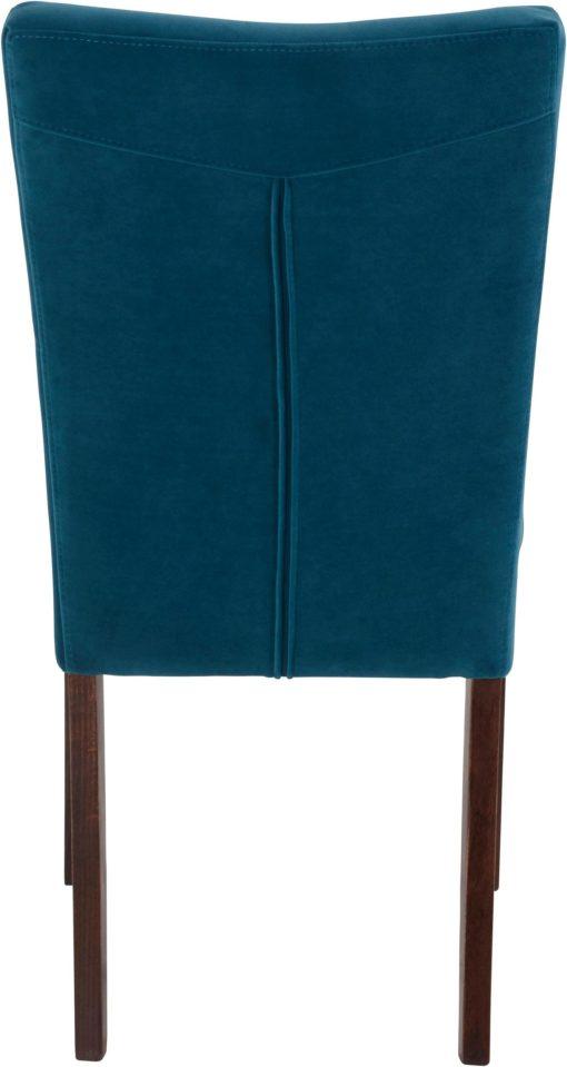 Stylowe krzesła w odcieniach niebieskiego - 4 sztuki