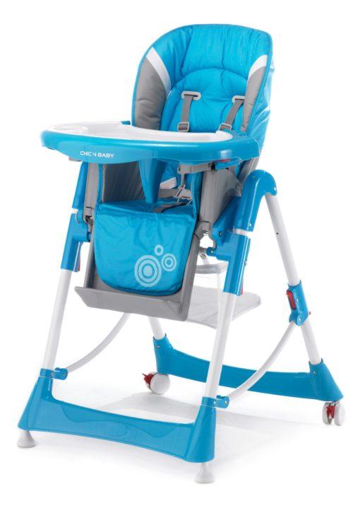 Krzesełko do karmienia z regulowanym oparciem