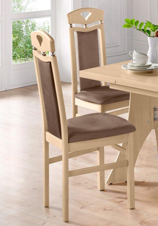 Drewniane stylowe krzesła 6 sztuk