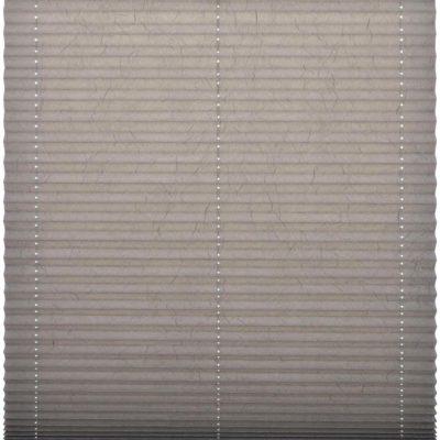 Modna plisowana roleta z zagniecionego materiału, 45x140 cm