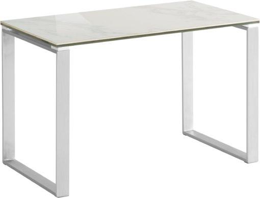 Nowoczesny stolik z blatem o wyglądzie marmuru