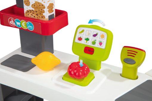 Supermarket do zabawy z oświetleniem i efektami dźwiękowymi