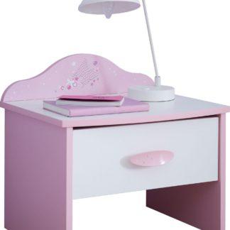 Urocza szafka nocna dla małej księżniczki