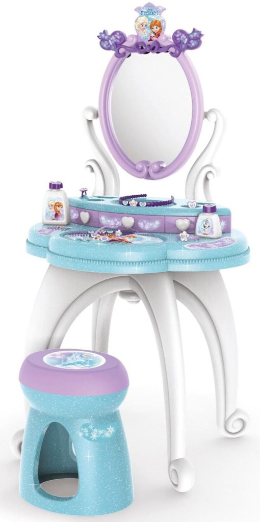 Dzięcięca toaletka z motywem z bajki Frozen
