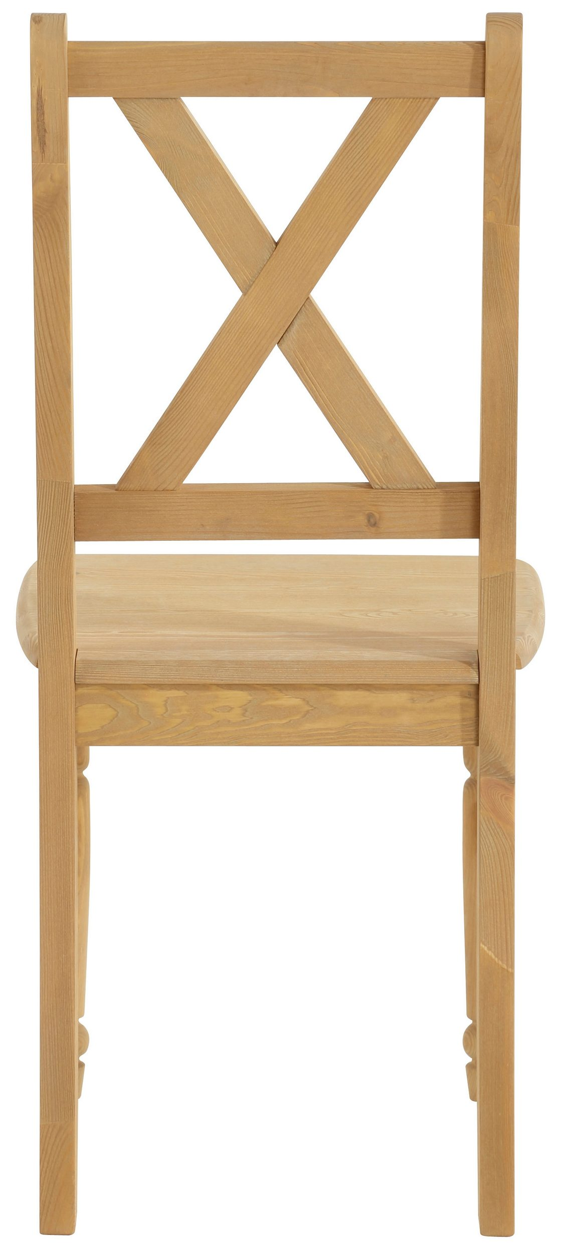 Przepiękne Sosnowe Krzesła Z Toczonymi Nogami 4 Sztuki