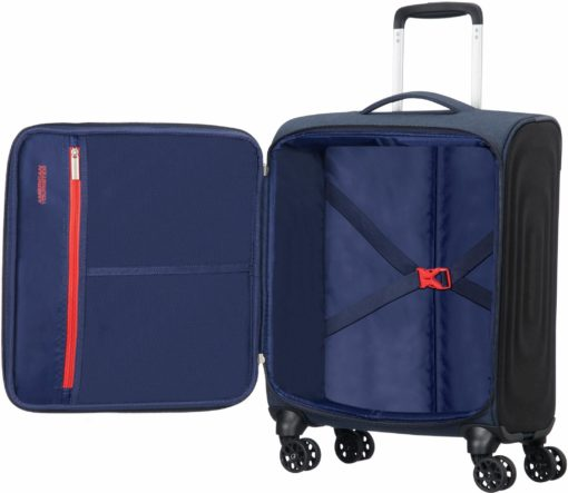 Miękka walizka na kółkach, 40 l