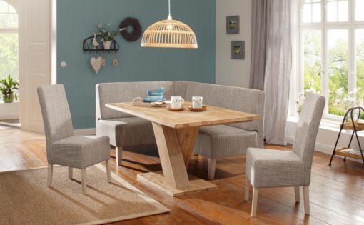 Gustowne, tapicerowane krzesła - 2 sztuki