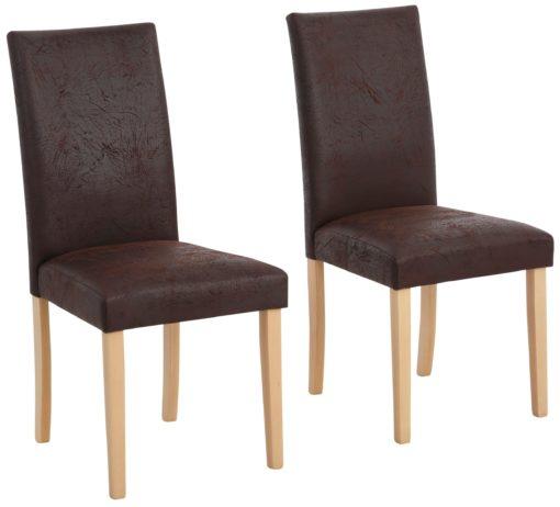 Stylowe krzesła, vinage look, 2 sztuki